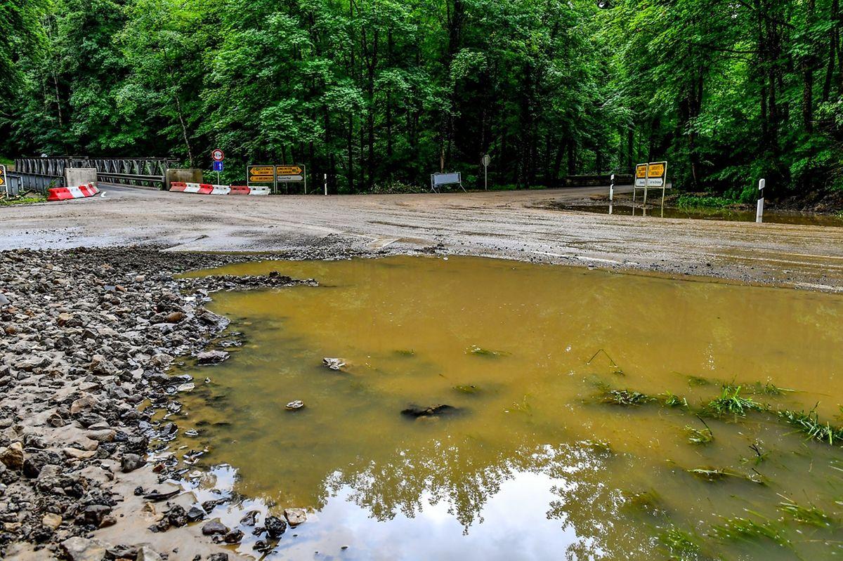 De nombreuses inondations ont frappé la région de Rosport.