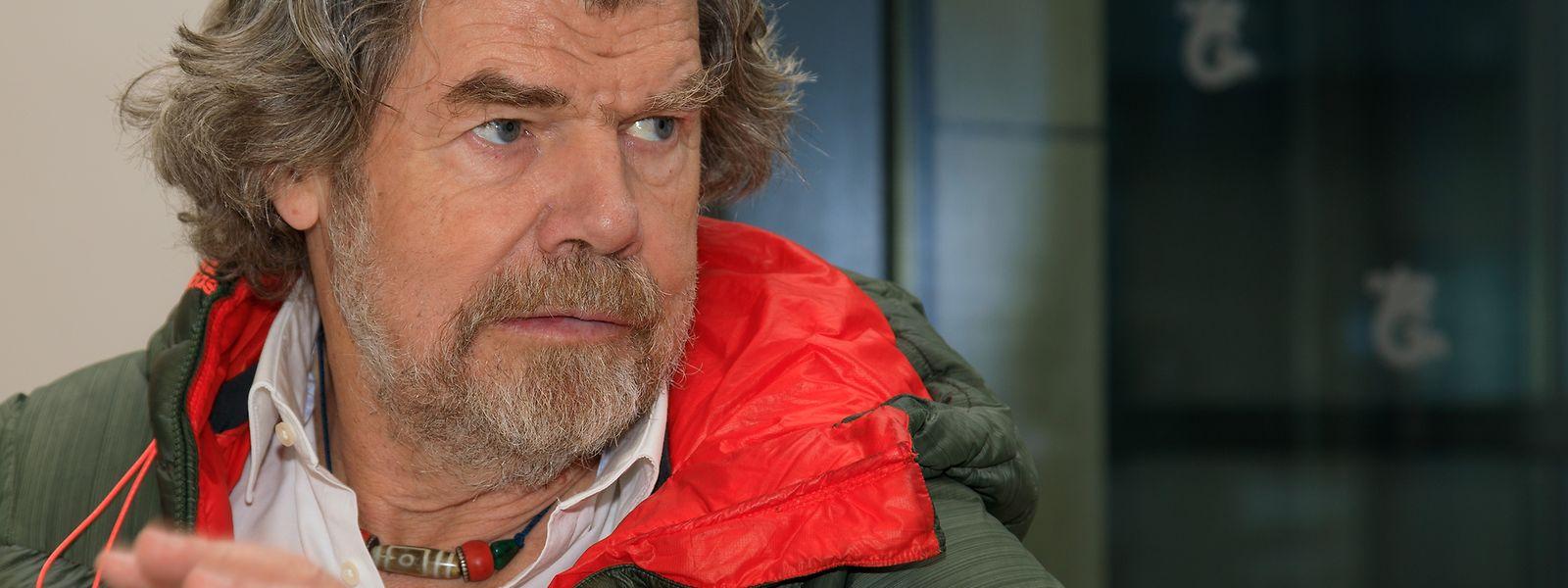 Reinhold Messner stand als erster Mensch auf den 14 Achttausender.