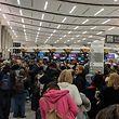 Tausende Passagiere mussten sich in den USA wegen der Panne in Atlanta stundenlang gedulden.