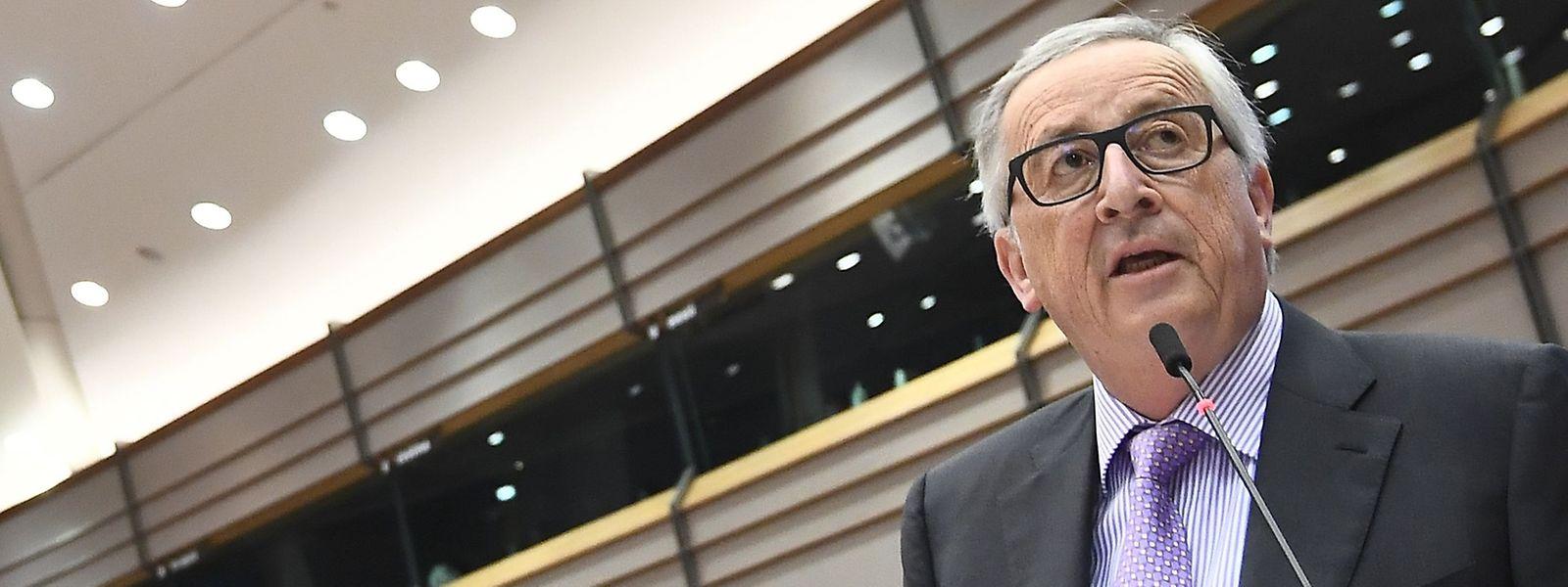 Jean-Claude Juncker am Donnerstag in Brüssel.