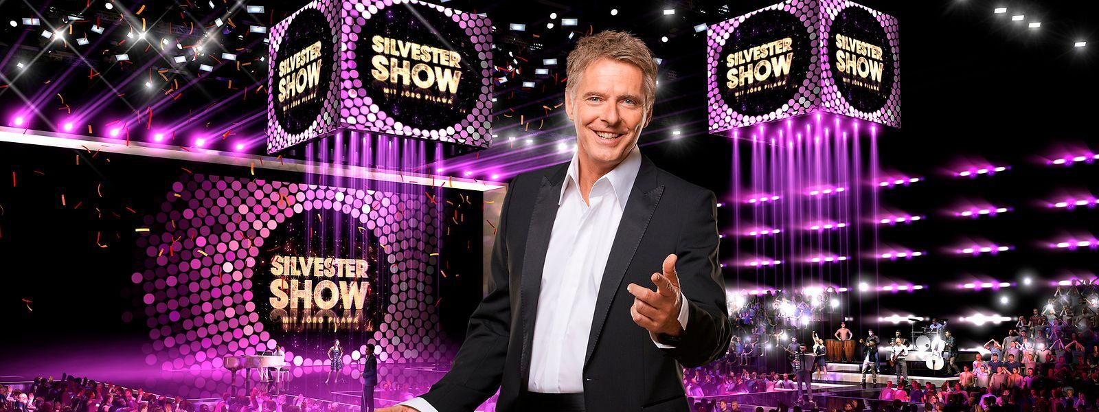 Das perfekte Outfit zum Jahreswechsel: Jörg Pilawa hat sich für die große TV-Show am Silvesterabend in der ARD natürlich in Schale geworfen.