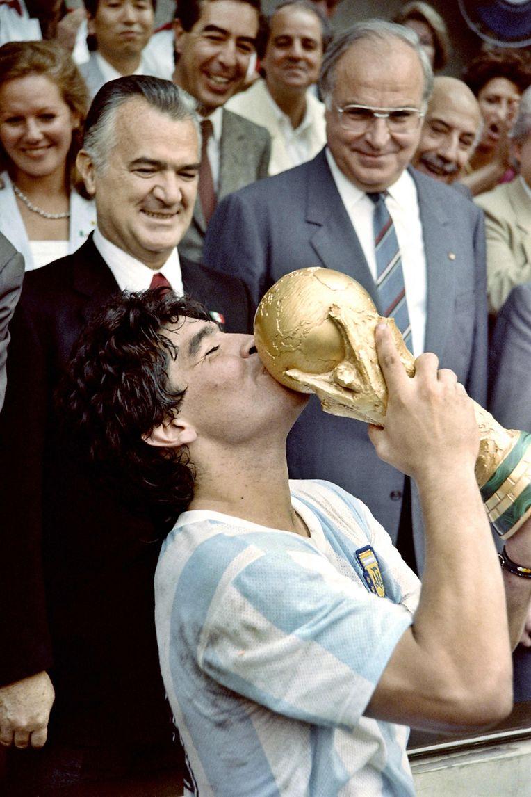 1986 führte Diego Maradona Argentinien zum WM-Titel.