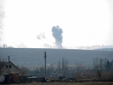 Die Rauchsäule der Explosioin war kilometerweit zu sehen.