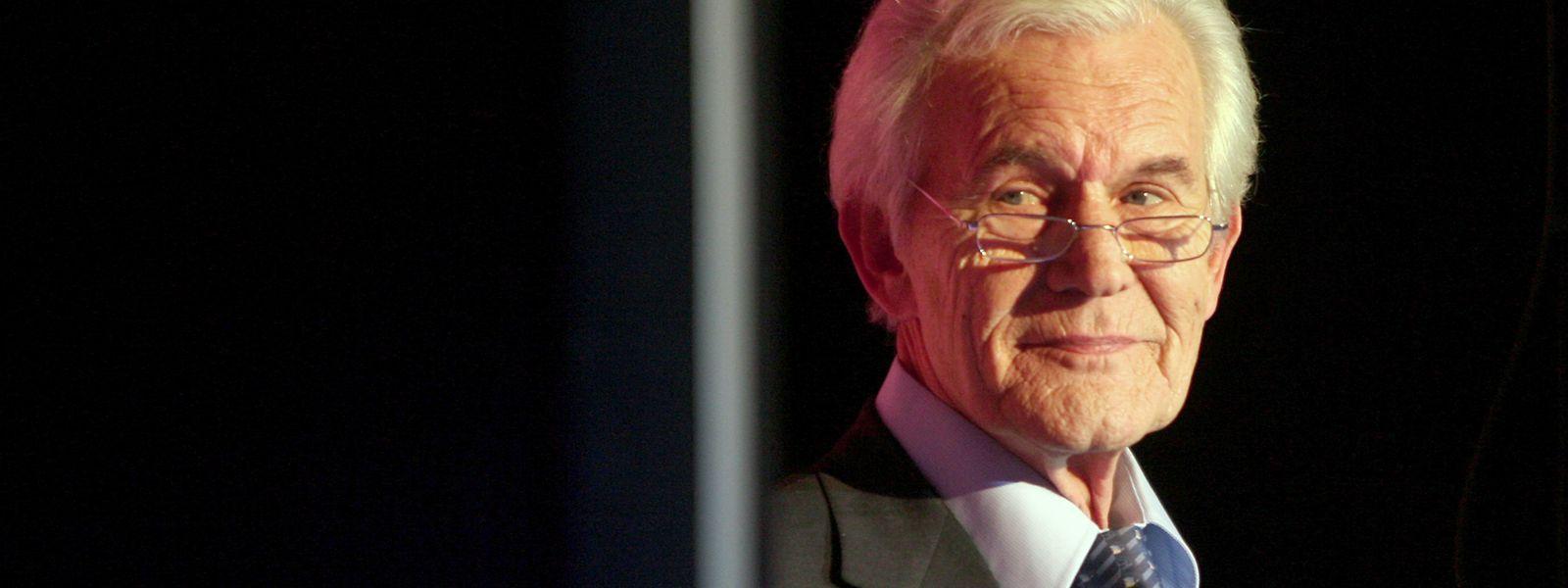 """Der ehemalige """"Tagesschau""""-Sprecher Wilhelm Wieben ist verstorben."""