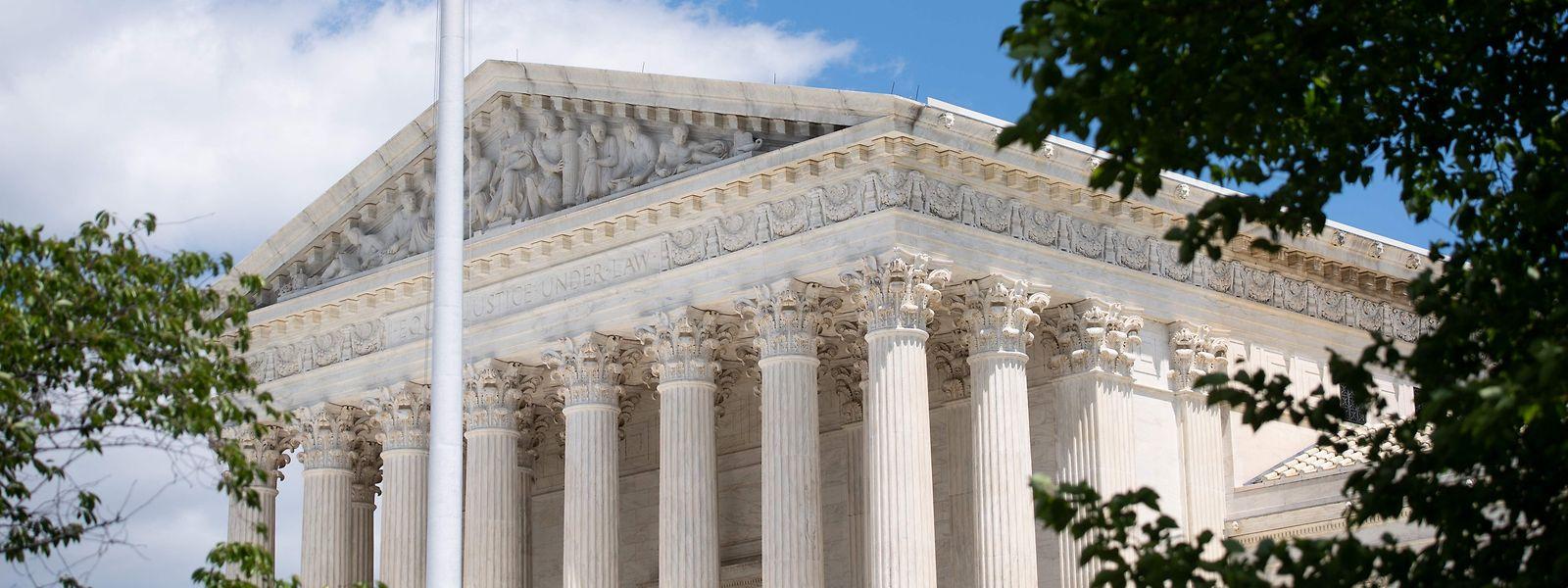 Das Gebäude des Obersten Gerichtshofs in Washington - hier soll die Entscheidung fallen.