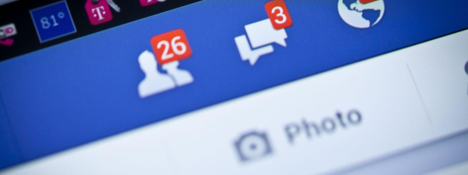 79 Prozent der in Luxemburg ansässigen Befragten gaben an, auf Facebook aktiv zu sein.