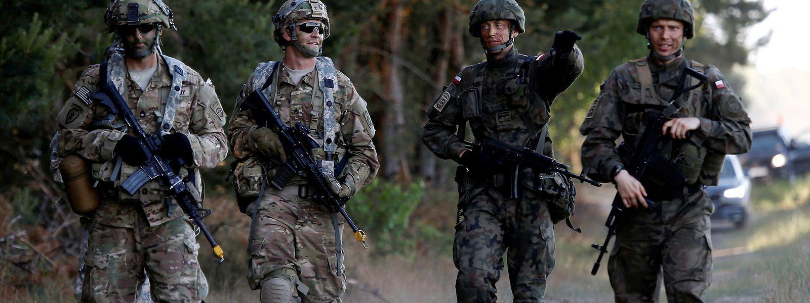 Im Juni hatten das Verteidigungsbündnis in Polen ein Manöver abgehalten.