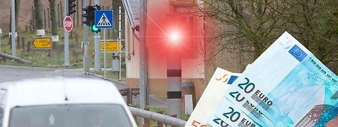 Si vous voyez le flash rouge sur une route limitée à 70 km/h comme au Schlammesté (entre Frisange et Hesperange), c'est que vous rouliez à au moins 74 km/h. L'avertissement taxé, envoyé automatiquement, s'élèvera de 49 euros à 145 euros.