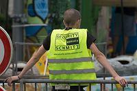 Agence de s�curit� Schmitt Schueberfouer, Luxembourg, le 20 Aout 2015. Photo: Chris Karaba
