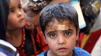 Hunderte Zivilisten wurden bei den Kämpfen der vergangenen Tage verletzt oder getötet.