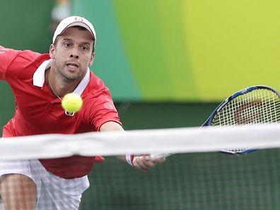 Gilles Muller zeigt hochklassiges Tennis.