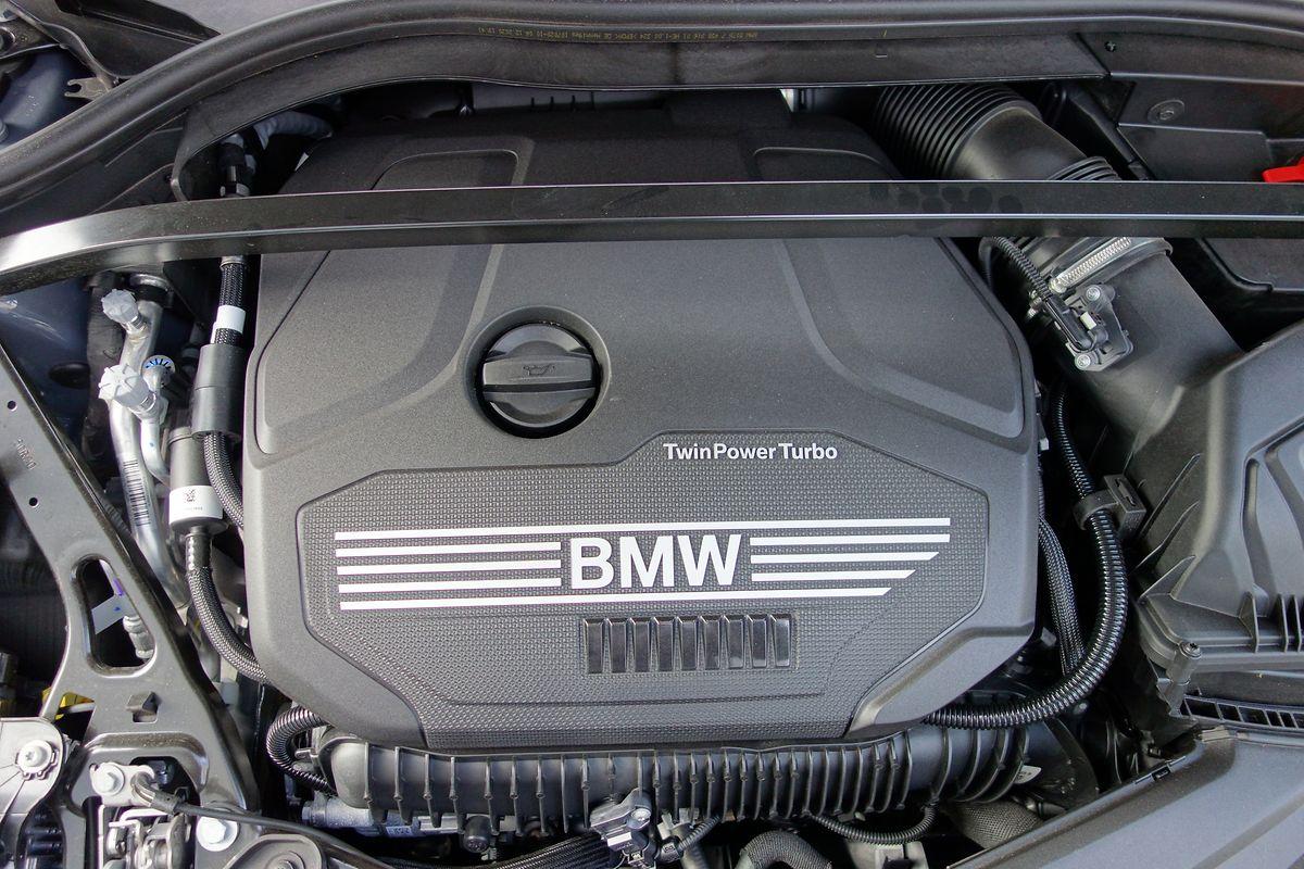 Quell der Freude: der Motor aus dem M135 wurde für 128ti angepasst.