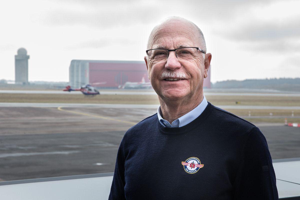 Air-Rescue-Präsident René Closter fordert Hotelzimmer für Piloten und Bodenpersonal.