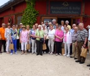 Besuch vun der historescher Wassermillen zu Birgel