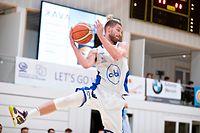Dean Gindt (Résidence 8) / Basketball, Total League Männer, Résidence - Basket Esch / 10.10.2020 / Walferdingen / Foto: Christian Kemp