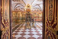In Dresdens Schatzkammer Grünes Gewölbe ist am frühen Morgen eingebrochen worden. Der Einbruch betrifft den historischen Teil der wertvollen Sammlung.