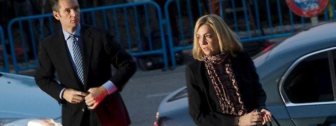 Besuche bei Gericht werden für Infantin Cristina noch einige folgen.