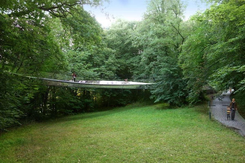 Dieses Projekt hat den Ersten Preis beim Wettbewerb, der für Architekten und Ingenieure ausgeschrieben war, gewonnen.