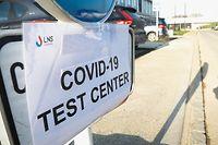 Illustration, beim LMS, Covid-Testzentrum, Corona, Testing, testen, Covid-19, Foto: Anouk Antony/Luxemburger Wort