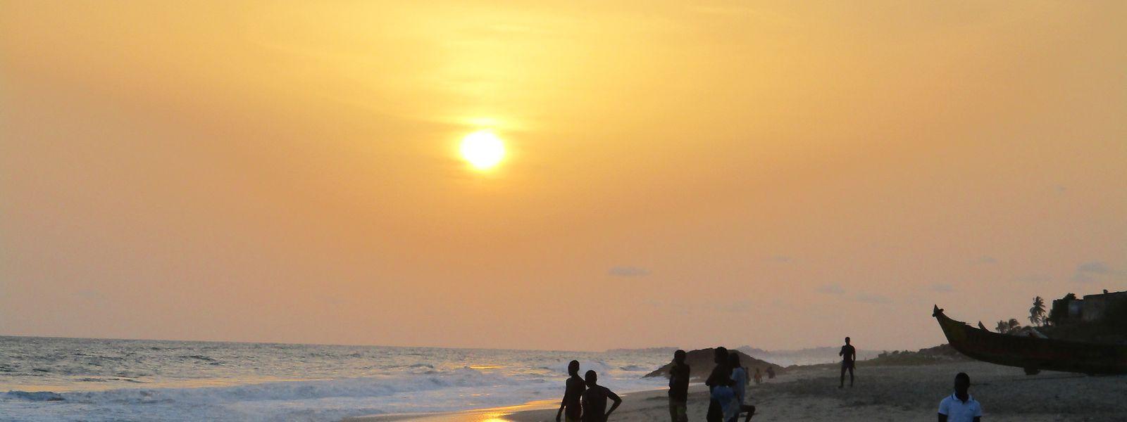 Der Golf von Guinea an der westafrikanischen Küste gilt als das gefährlichste Seegebiet der Welt.