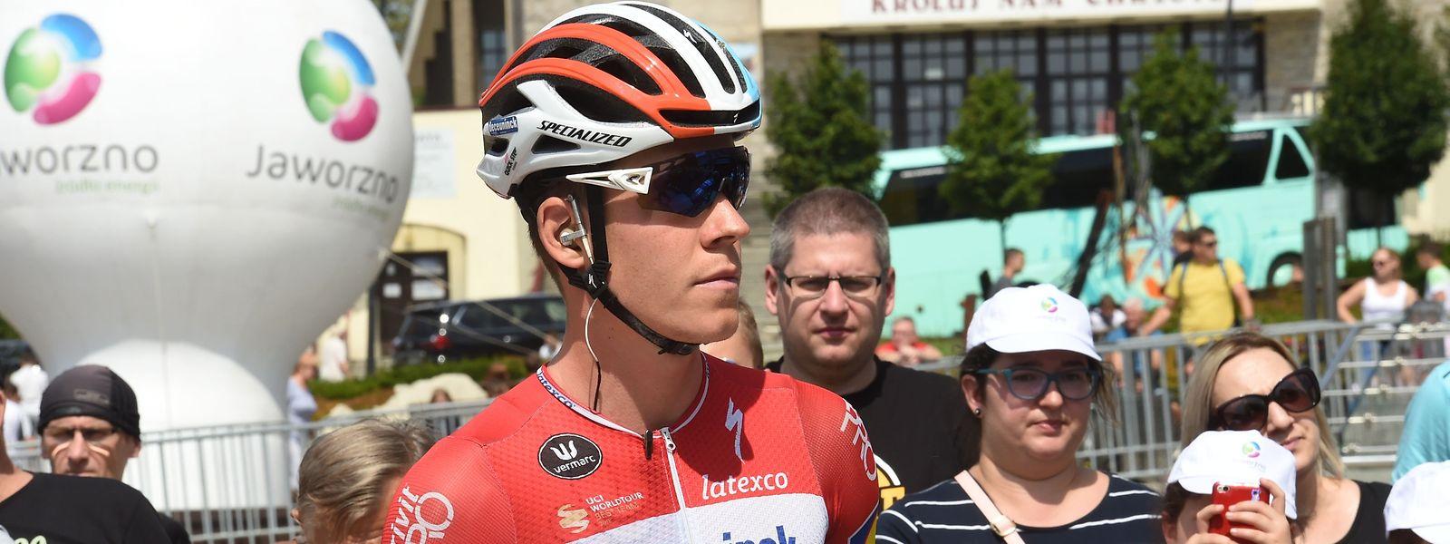 Bob Jungels disputera le Tour de Slovénie  avant de s'aligner aux Mondiaux.