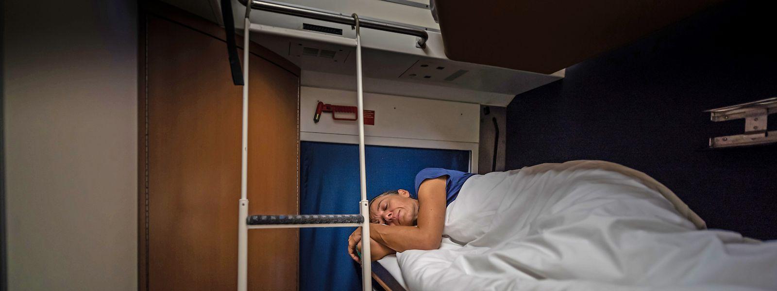 Die Übernachtfahrt im Schlafwagen wird immer beliebter.