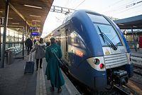 Desk, Zug, Bahnhof, CFL, Öffentlicher Transport, TER, Streik, Foto: Lex Kleren/Luxemburger Wort