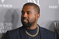 (FILES) In this file photo taken on November 6, 2019, US rapper Kanye West attends the WSJ Magazine 2019 Innovator Awards at MOMA in New York City. - West has reportedly ended his presidential campaign which launched on the Fourth of July, according to US media on July 15, 2020, quoting political advisor Steve Kramer. (Photo by Angela Weiss / AFP)
