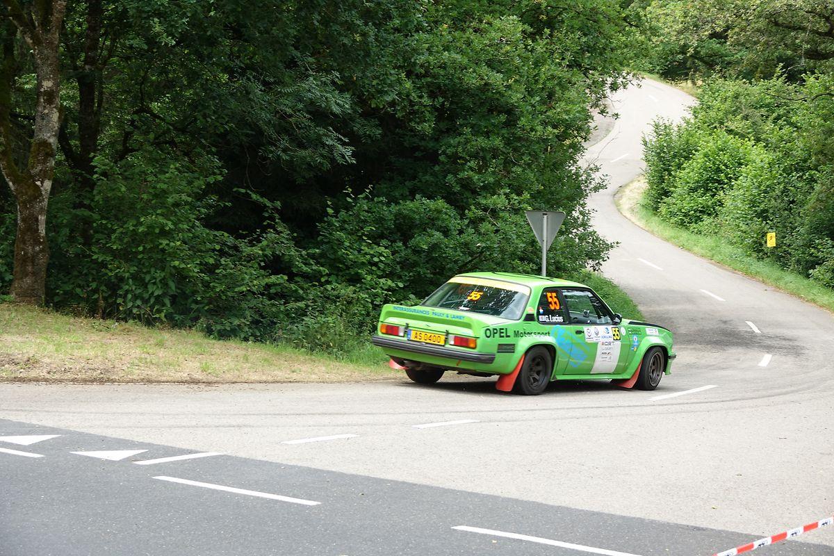 Guy Lucius et Wunsch ont mené leur Opel Ascona B à la 34e place