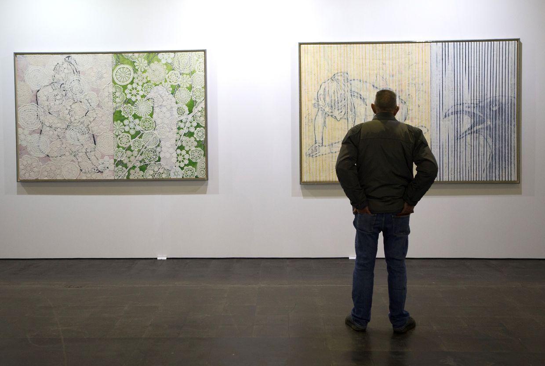 Luxembourg Art Week  au Halle Victor Hugo.