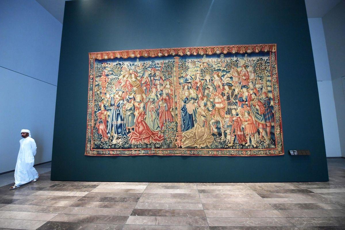 "La tapisserie médiévale ""Daniel et Nabuchodonosor"""