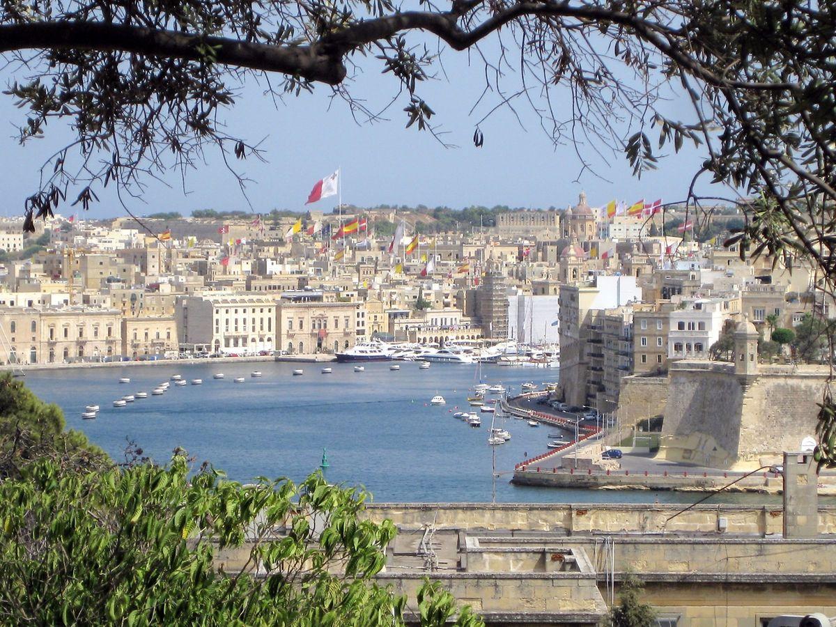 Maltas Hauptstadt Valletta hat eines der sichersten Hafenbecken im Mittelmeer.