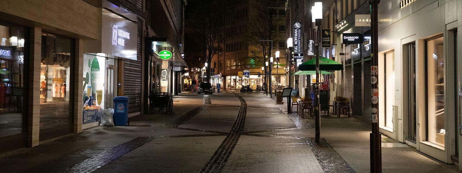 A compter de vendredi soir, les rues du Grand-Duché doivent être vides entre 23h et 6h. Et ce, jusqu'au 30 novembre.