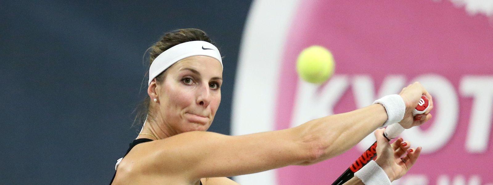 Mandy Minella ist die luxemburgische Nummer eins des Fed-Cup-Teams.