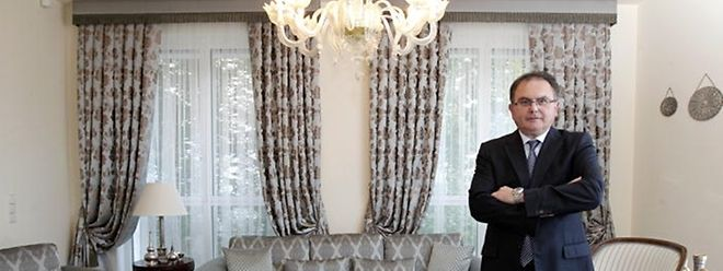 Der türkische Botschafter in Luxemburg Salim Levent Sahinkaya.