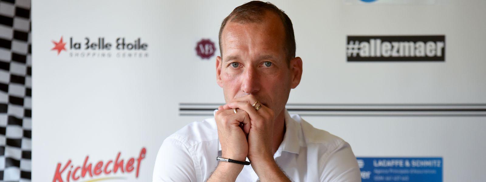 Jeunesse-Trainer Jeff Strasser hatte vor dem Saisonstart nur zwei Monate Zeit.