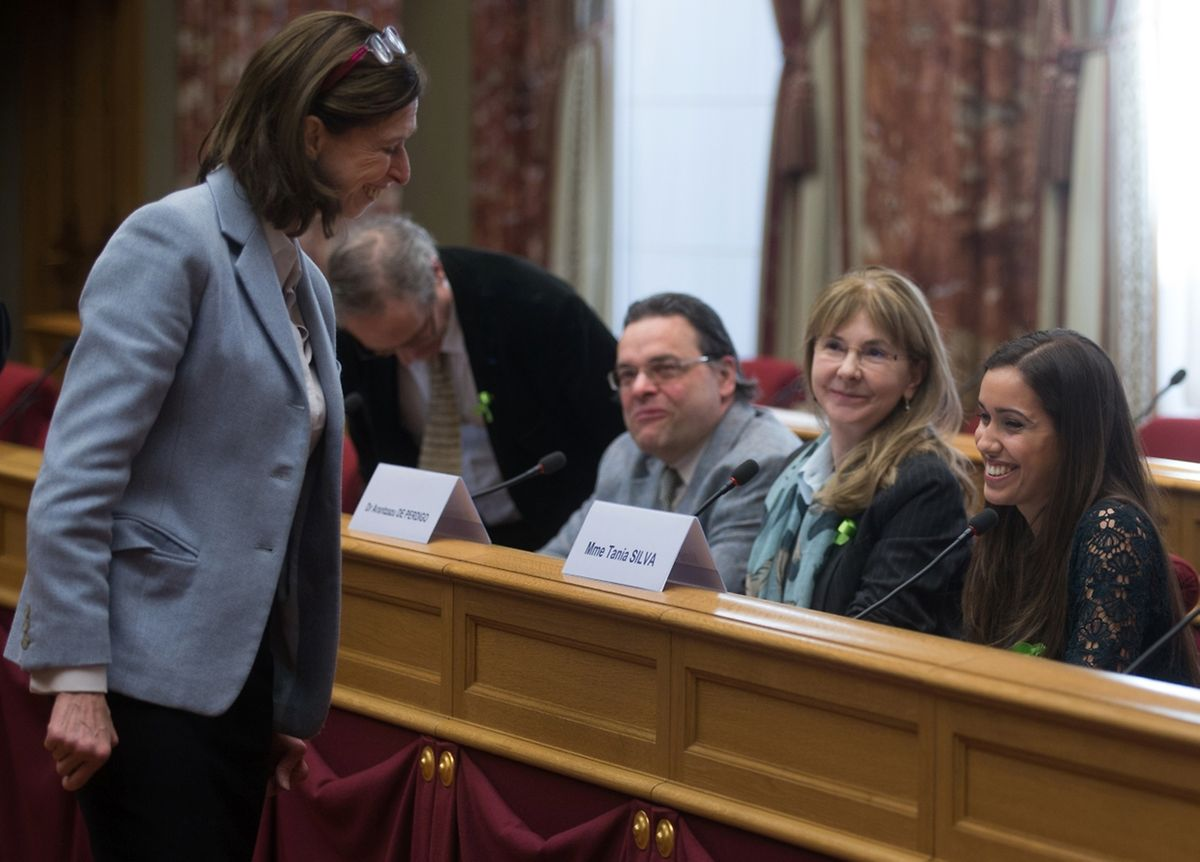 A ministra da Saúde, Lydia Mutsch, prometeu reforçar a prevenção da doença