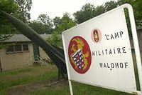 Das Munitionsdepot in Waldhof.