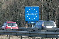 4.3. Groussregion / Report Pendler / Arloner Autobahn bei Sterpenich Foto: Guy Jallay