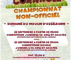 CORNHOLE CHAMPIONNAT NON-OFFICIEL