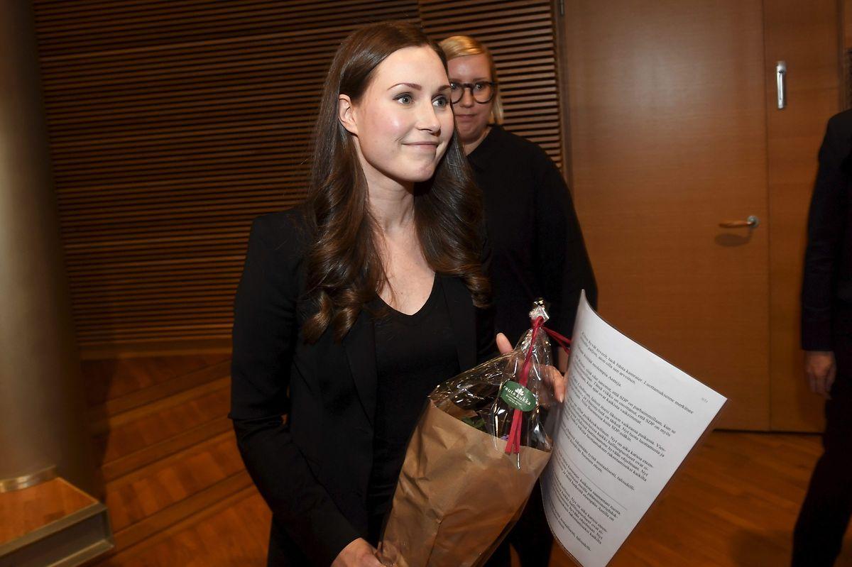 Sanna Marin  succède à Antti Rinn qui avait démissionné le 3 décembre dernier.