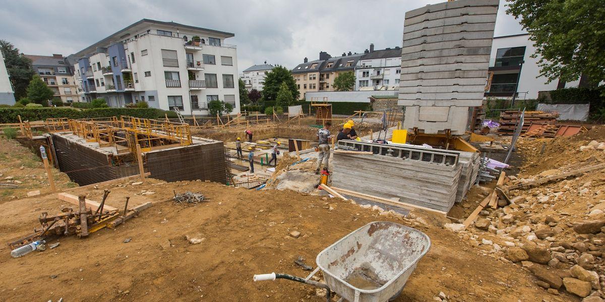 """""""Le Verger Ermesinde-Vivre sans Voiture"""": la construction a débuté le 17 juin et s'achèvera en 2020."""