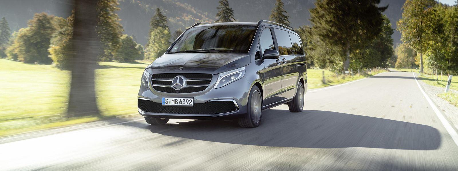 Die V-Klasse ist ein wichtiger Baustein der weltweiten Wachstumsstrategie von Mercedes-Benz.