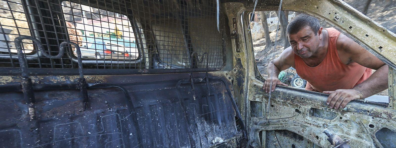 Carlos Inácio foi algemado junto à sua casa por se recusar a sair, as agressões  aconteceram  em Alferce por militares da GNR