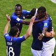 Paul Pogba marcou o golo decisivo dos gauleses