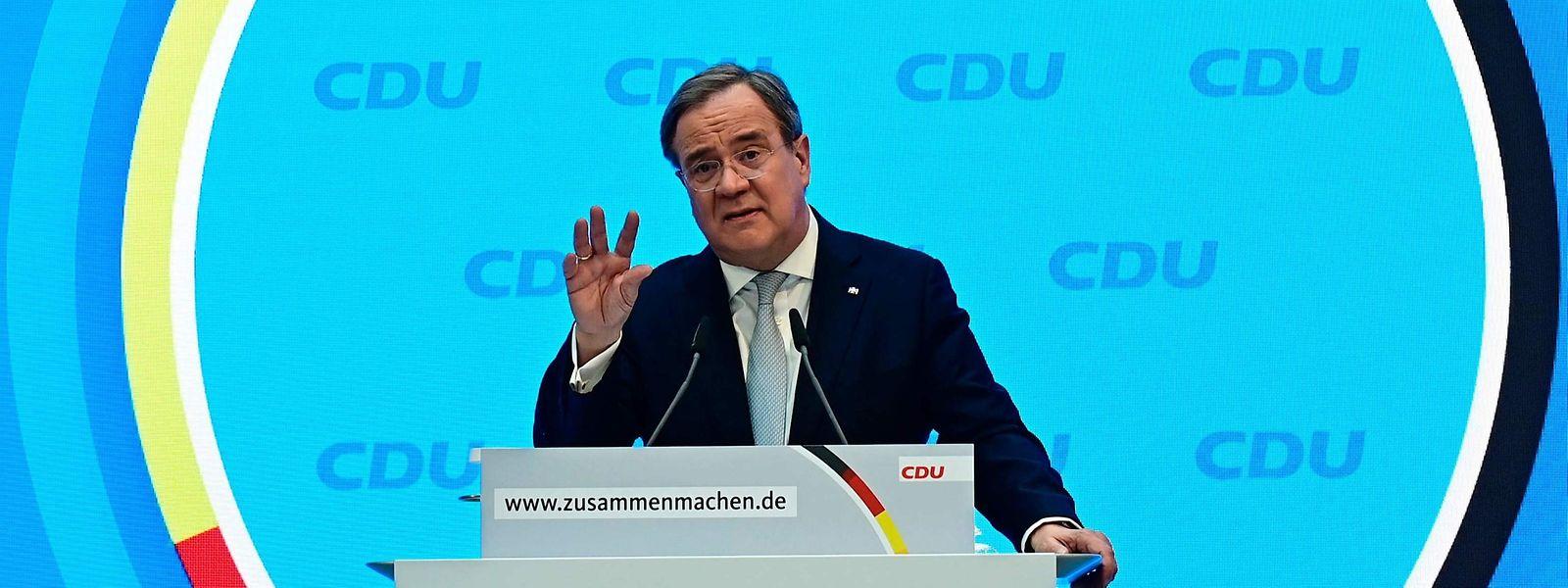 CDU-Chef Armin Laschet muss die Kanzlerkandidatenfrage bald klären.
