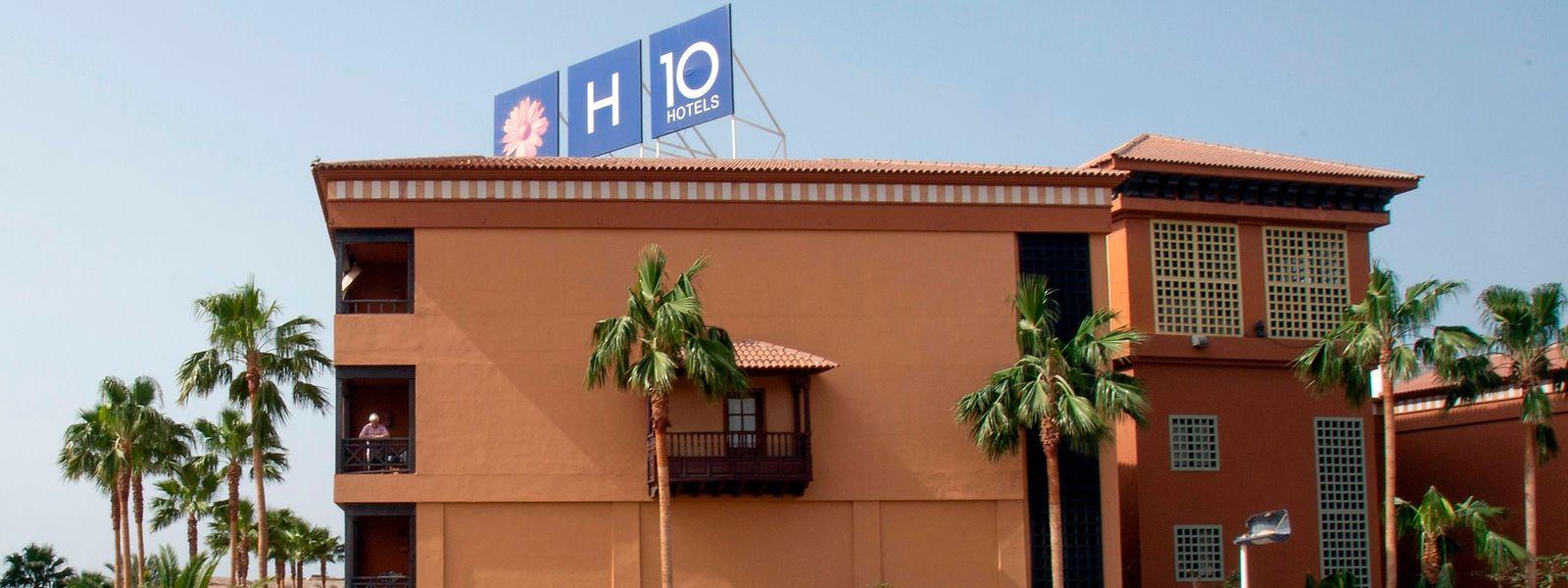 Das Hotel H10 Costa Adeje Palace in La Caleta ist derzeit abgesperrt.