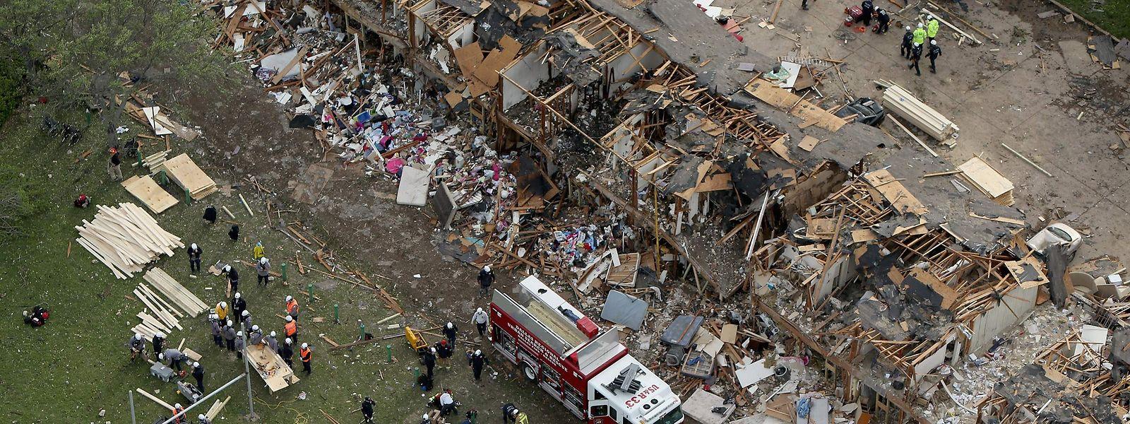 Imagens da destruição de Beirute após as violentas explosões de terça-feira, 4 de agosto.