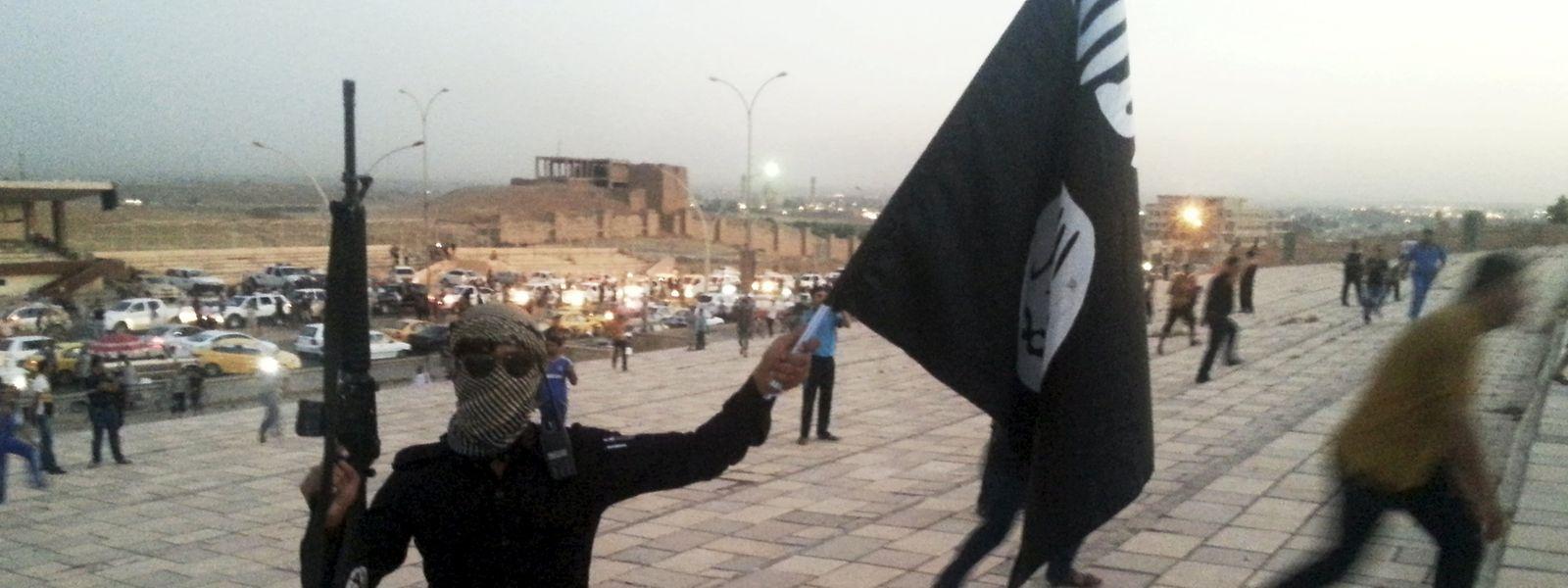 IS-Kämpfer im Jahr 2015 in Syrien.