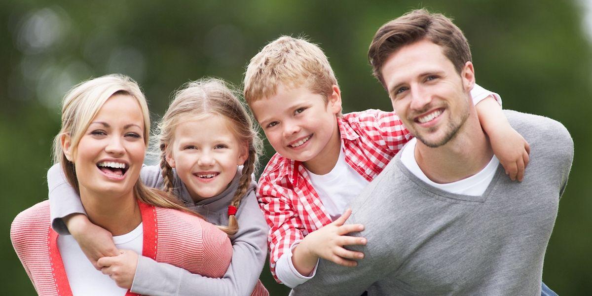 Das klassische Familienmodell gilt bei jungen Menschen auch heute noch als erstrebenswert.